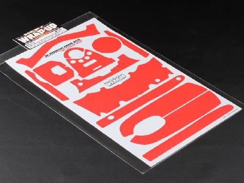 0002-33 3D Propo Decal (Carbon Red) for 4PKS