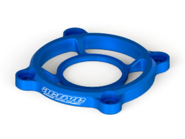 AC403B Alloy Cooling Fan Protector Blue