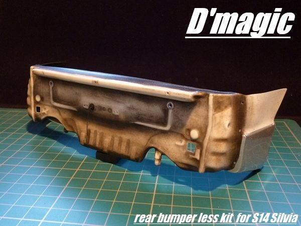 DM-03-500 Rear Bumperless kit for YOKOMO S14