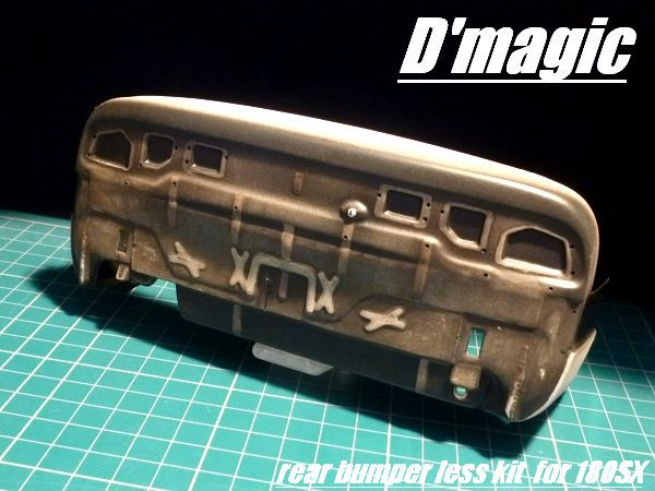 DM-06-100 Rear Bumperless kit for YOKOMO 180SX