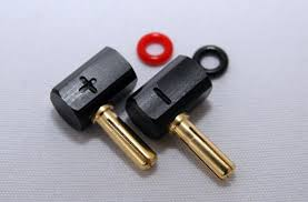 HA-EL Pro Spec 4mm L Type plug(2pcs)