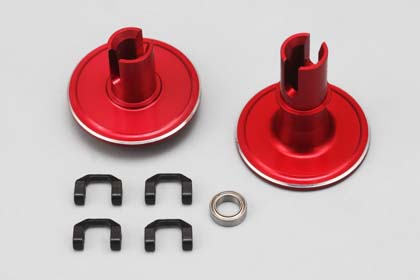 BR-500P Yokomo Alu Diff Joint Set for DRB DIB(Red)