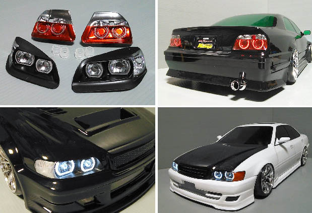 Head light set type2 for YOKOMO Chaser 2010 YT4