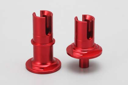 DRR-50215 Solid Axle Set for FCD×1.5 for DRB DIB(Red)