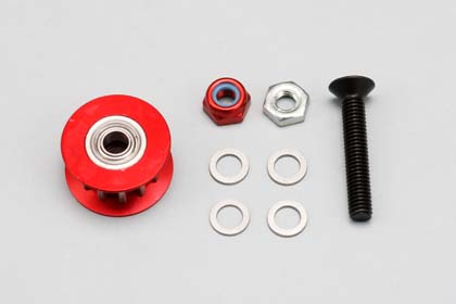 DRR-RBIP Rear Belt Idoler Pully Set(Red) for DRB
