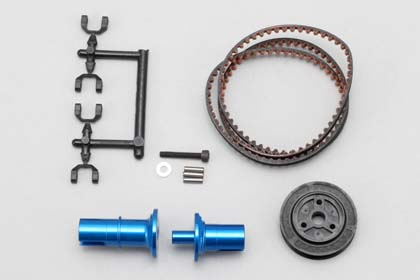 IB-FCD15 Full Counter Solid Axle Set for DIB (Rear ×1.5 Blue)