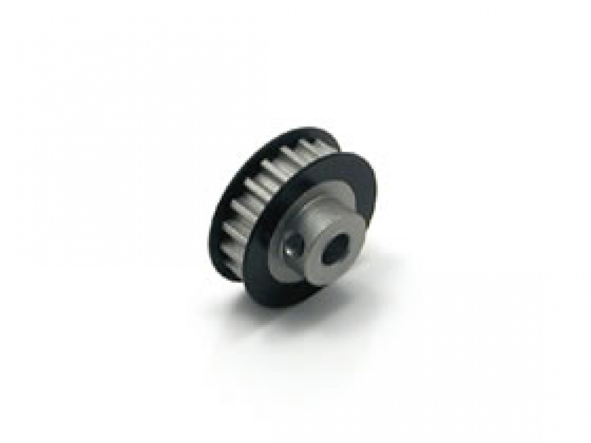 SGE-317BK Aluminum Center Pully (17T) Bllack