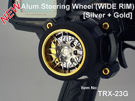 TRX-23G Square Aluminum Radio Wheel
