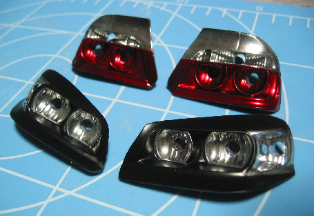 YT1 Head light set for YOKOMO Chaser 2010