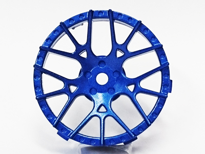 "TT-7608 ""Super RIM"" DISC ""Lycoris"" Blue Metallic 2pcs"