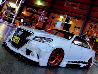 TT-7701 TOYOTA GSR21# CROWN with Black pearl complete