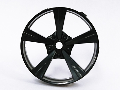 "TT-7639 ""Super RIM"" DISC ""Mandarin"" Solid BLACK 2pcs"