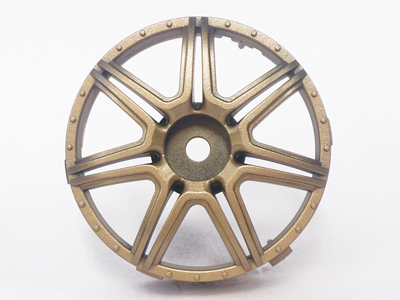 "TT-7629 ""Super RIM"" DISC ""Marguerite"" Gold 2pcs"