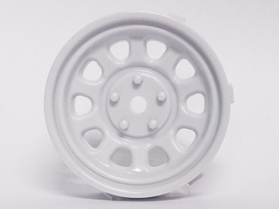 "TT-7615 ""Super RIM"" DISC ""Sunflower"" Heavy WHITE 2pcs - Click Image to Close"