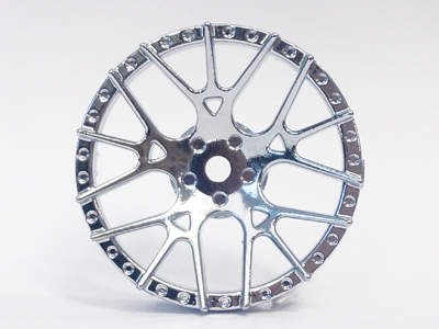 "TT-7607 ""Super RIM"" DISC ""Lycoris"" Chrome 2pcs"