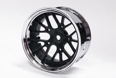TT-7611 Super RIM Chrome and Black Lycoris 2pcs set