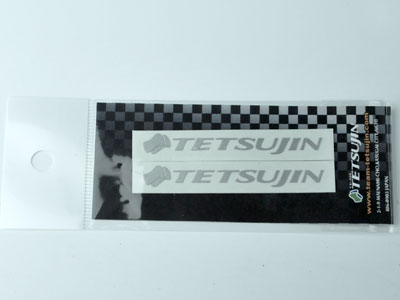 TT-7027 TETSUJIN Decal for RR window (silver)