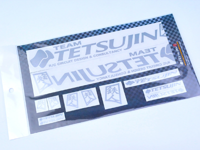 TT-7057 TETSUJIN Decal set for Body -SILVER