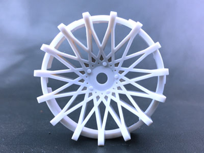 "TT-7525 ""Super RIM"" DISC ""DAHLIA"" Heavy WHITE 2pcs"