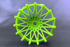 "TT-7527 ""Super RIM"" DISC ""DAHLIA"" Fine GREEN 2pcs"