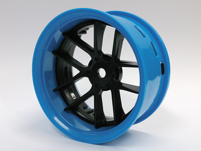 TT-7548 Super RIM blue and black Jasmine 2pcs set
