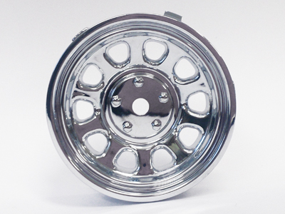 "TT-7620 ""Super RIM"" DISC ""Sunflower"" Chrome 2pcs"