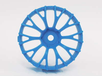 "TT-7632 ""Super RIM"" DISC ""Daisy"" Air BLUE 2pcs"
