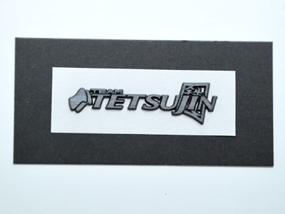TT-7256 TETSUJIN Badge medium